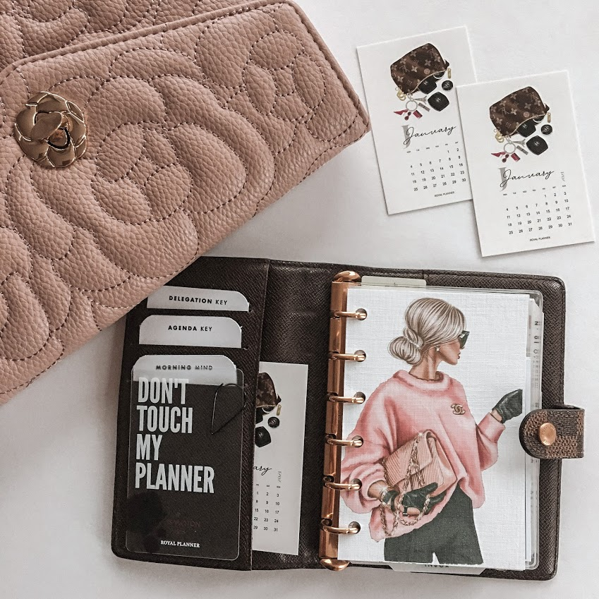 CUSTOMISE YOUR PLANNER